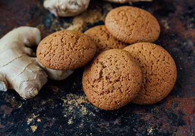 Christmas Ginger Snap Cookies